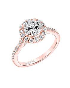 ArtCarved 31-V735ERRR-E.00 Engagement Ring - The Knot