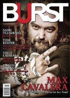 BURST Magazine Issue 11, November 2013 Nu Metal, Black Metal, Kerry King, Metal Health, Art Articles, Extreme Metal, Power Metal, Band Photos, Industrial Metal