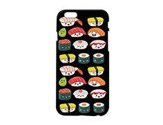 Cute Sushi Pattern Plastic Phone Case Phone Cover for Iphone 6 6s ^_^ Yurishop (VA1066.6bl) Yurishop