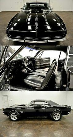 Black on black Camaro
