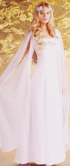 Galadriel Council Dress Adult  Costume by TheHouseOfZuehl on Etsy, $185.00