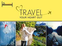 Because this heart of yours was made to travel the...  Instagram travelquote