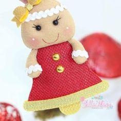 Christmas bells with printing templates - Como Fazer Christmas Bells, Felt Christmas, Print Templates, Beautiful Christmas, Hello Kitty, Paper Crafts, Teddy Bear, Artisan, Photo Wall