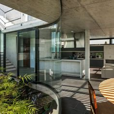 LenS House is a modern concrete house was designed by Obra Arquitetos for a couple with the idea of providing a contemplative and reflective space Loft House, House Built, Contemporary Architecture, Architecture Design, Dream Home Design, House Design, Casa Patio, Architect House, Small Patio