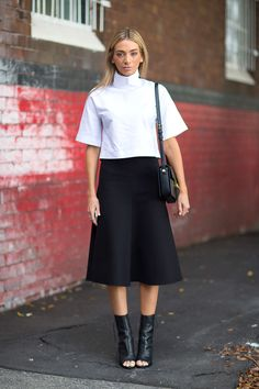 Street Style Australia Fashion Week Fall 2014