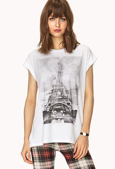 Eiffel Tower Tee | FOREVER 21 - 2000107972