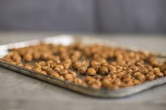 How to Make Crunchy, Roasted Chickpeas Using Healing Herbs And Flavors