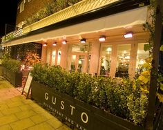 Gusto Italian Restaurant Didsbury - information and special offers South Manchester, Restaurant Bar, Travel Inspiration, England, Around The Worlds, Neon Signs, My Favorite Things, Lifestyle, Restaurants