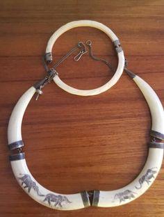 Ivory neck & arm