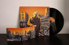 "ENES ""Street Soul LP"" Illustration on Behance"
