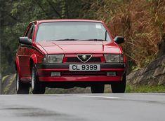 Alfa Romeo 75...such cute little cars!