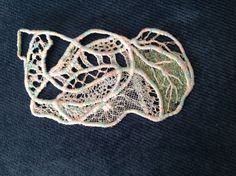 Machine embroidery by Margaret Roberts