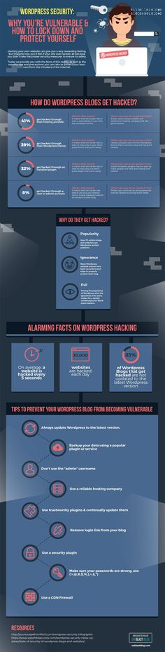 WordPress Security: 9 Tips to Secure Your Blog [Infographic]