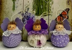Christmas Crafts For Gifts, Christmas Ornaments, Wood Spool, Matryoshka Doll, Puppets, Fabric Crafts, Projects To Try, Dolls, Holiday Decor