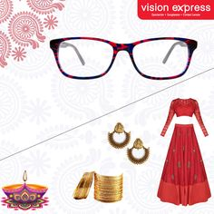 aa9ae82960 Stay stylish this Diwali with our new collection of spectacle frames. Model  - VX GV