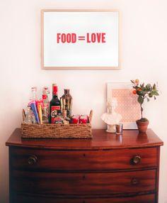 food = love. FACT.