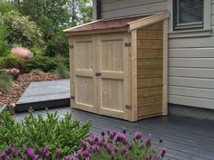 Incroyable A OUTDOOR STORAGE SHED FOR MY BBQ GRILL #10: Finishing Up   By Stefang