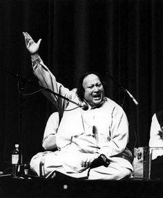 Ustad Nusrat Fateh Ali Khan -the greatest Qawalli singer of all time. -Shahenshah-e-Qawwali