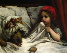 Gustave Dore  | Little Red Riding Hood