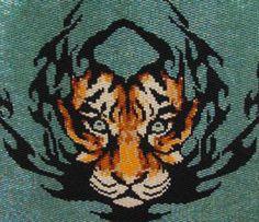 Beadiful Tiger Tat | Bead-Patterns