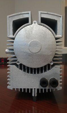 Maschinenmodell für Messeausstellung