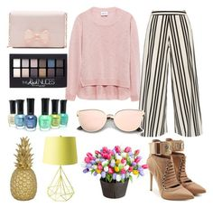 """""""going out with friends"""" by k-aren-love ❤ liked on Polyvore featuring Alice + Olivia, Puma, Ted Baker, Goodnight Light, Improvements and Maybelline"""