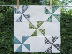 HST Trick 01-- Have used this technique on several quilts and it really works.  See youtube video by Missouri Star Quilts.
