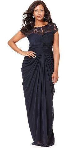 Plus Size Evening Dresses 2015  (3)