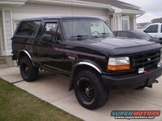 1996 Ford Bronco pictures, photos, videos, and sounds | SuperMotors.net
