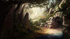 Forest Dungeon by Bezduch.deviantart.com on @DeviantArt