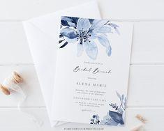 Bridal Brunch Invitation Bridal Luncheon Invitation Digital   Etsy