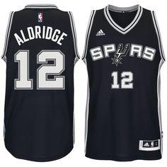... LaMarcus Aldridge San Antonio Spurs adidas Road Swingman climacool  Jersey - Black Nike ... ede9bbfff