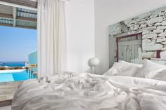 Located in Folegandros, an island that has kept its Aegean legacy untouched by time, Anemi boutique hotel was created to guarantee an amazing hospitality experience combining contemporary design and Cycladic architecture. Superior Room, Best Boutique Hotels, Global Style, Soothing Colors, Beautiful Hotels, Real Style, Hotels And Resorts, Contemporary Design, Greek