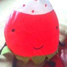 Ikea strawberry plush