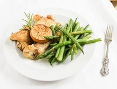 Chicken with Lemon and Rosemary -  by eat like you love yourself