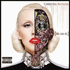 Blonde Cyborg CD Covers - Pop music superstar Christina Aguilera is set to drop a new album entitled 'Bionic' and while you may not find any of her music on my iPod, what I . Christina Aguilera Bionic, Christina Aguilera Albums, The Velvet Underground, Robert Mapplethorpe, Patti Smith, Takashi Murakami, Blink 182, Cd Cover, Album Covers