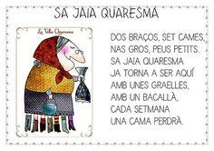 VELLA QUARESMA - G Manu - Àlbums web de Picasa Scrap, Crochet Hats, Baseball Cards, Art, Murals, Blog, School, Carnival, Picasa