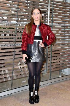 Adèle Exarchopoulos au défilé Louis Vuitton.