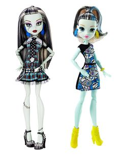 Frankie old and Frake new from Mattel