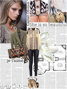 """""""Untitled #1395"""" by ivonce ❤ liked on Polyvore"""