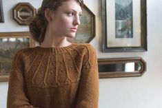 Ravelry: Agrotera Pullover pattern by Amanda Bell