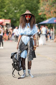 The Best Street Style From Afropunk