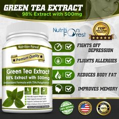 Green Tea Extract, How To Make Tea, Weight Management, Nutrition