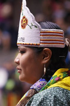 Indian woman Native American, via Flickr.
