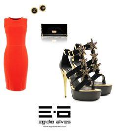 """SS'17 EGIDIO ALVES LUXURY SHOES"" by egidioalvesluxuryshoes on Polyvore featuring Chanel and Karen Millen"