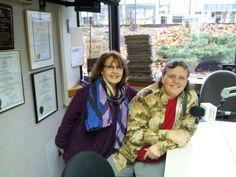 #Storytellers Gail Zeiba and Carolyn Stearns on WILI 1400 AM #radio Nov 2013 with host Wayne Norman to talk Tellabration