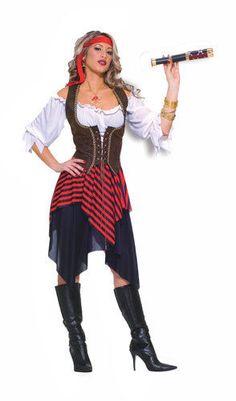Sexy Sweet Buccaneer Adult Womens Halloween Costume #CompleteCostume