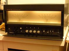 Technics flagship SE-A1 stereo power amplifier.