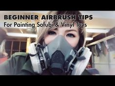 Candie Bolton Beginner Guide to Airbrushing Vinyl Toys and Sofubi | The Toy Chronicle
