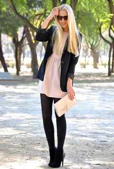 sweet with black #fashion #style
